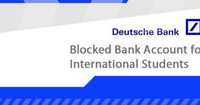 Blocked Account Germany